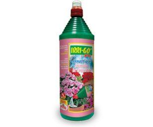 Prodotto a base di acqua complessata arricchita di elementi nutritivi che garantisce una crescita sana e rigogliosa di tutte le piante fiorite.