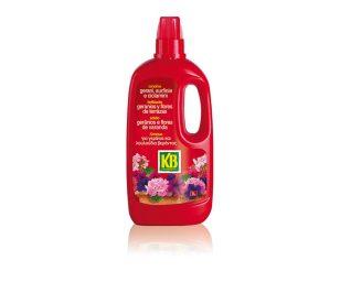 La formulazione di questo concime liquido è stata messa a punto per gerani