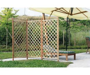 Ideale come divisorio e per il supporto delle piante rampicanti.
