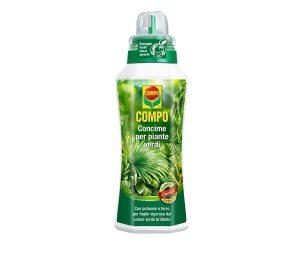 Concime liquido piante verdi 500 ml.