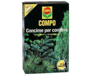 Compo guano conifere 1 kg.