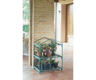 Senza telo può essere utilizzata nei mesi estivi come fioriera da esterno.