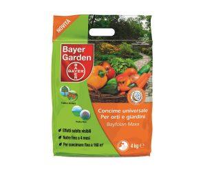 Concime granulare con azoto specificatamente formulato per rispondere ai bisogni nutrizionali delle piante dell'orto