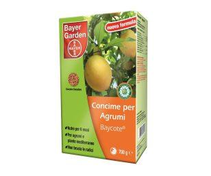 Concime granulare studiato appositamente per gli agrumi: aranci