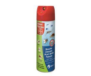 Insetticida pronto all'uso a forte effetto abbattente. Solfac spray mosche e zanzare elimina rapidamente mosche