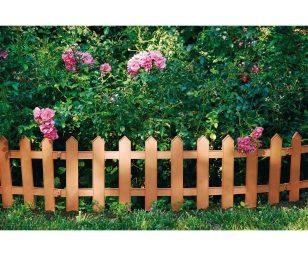 Creato per rendere più caratteristici i contorni del giardino.