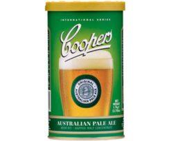 Malto -coopers- 'australian pale ale'.