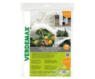 Il TNT 30 g/mq creando un microclima nel periodo invernale protegge le piante sia in coltura che in vaso.