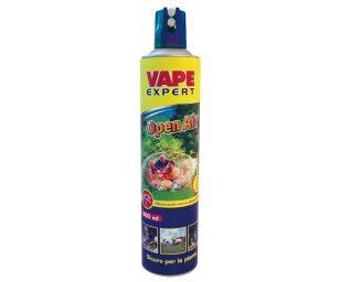Lo spray vape open air è un rimedio studiato da vape per offrire una protezione da zanzare comuni e tigre in spazi aperti e semi-aperti come giardini