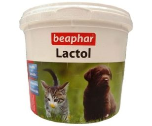 Latte in polvere per cuccioli.