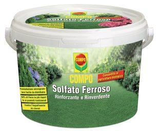 Compo solfato ferroso kg 5.