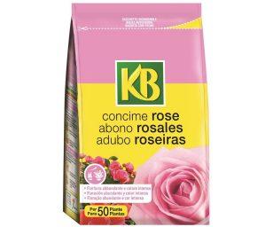Concime organo-minerale specifico per rosacee e arbusti da fiore.