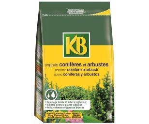 Concime organo-minerale specifico per conifere e arbusti verdi (quali bosso