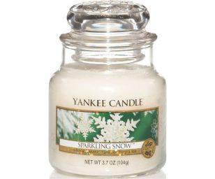 Il profumo fragrante e naturalmente fresco di splendenti pini innevati.