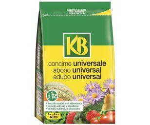 Concime universale organo-minerale ideale per la concimazione di fondo e di mantenimento di tutte le colture da giardino e da orto famigliare.