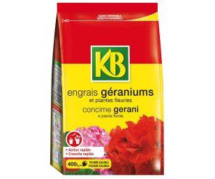 Concime minerale per gerani e tutte le piante fiorite in formulazione solubile per una assimilazione rapida degli elementi nutritivi.