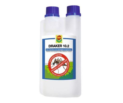 Draker 10.2 mosche e zanzare 1 lt.