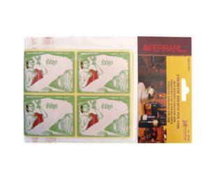Etichette colorate adesive