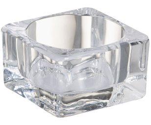 Porta maxi tealight in vetro.