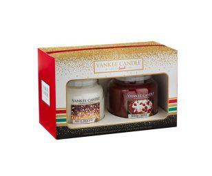 Gift set holiday party 2 medium jar.