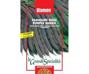 Fagiolini nani purple queen.