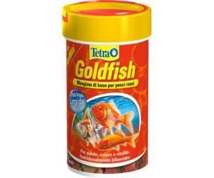 Mangime in fiocchi per tutti i pesci rossi e altri pesci d'acqua fredda.