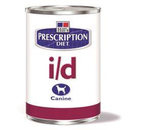 Prescription diet i/d low fat canine è clinicamente provato per calmare & lenire il tratto digerente.