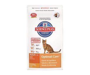 Hill's science plan feline cura ottimale al pollo è formulato per garantire salute & benessere con antiossidanti clinicamente testati