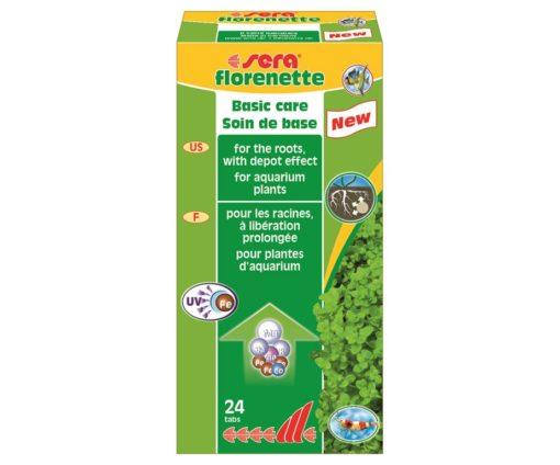 Fertilizzante con deposito di sostanze nutritive alle radici.