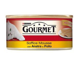 Il tuo gatto proverà intense esperienze di gusto grazie a gourmet red soffice.