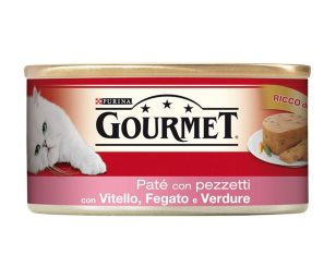 Il tuo gatto proverà intense esperienze di gusto grazie a gourmet red patè.
