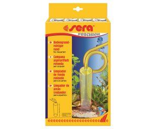 La sera campana aspirarifiuti rotonda è indicata in particolare per grandi superfici.
