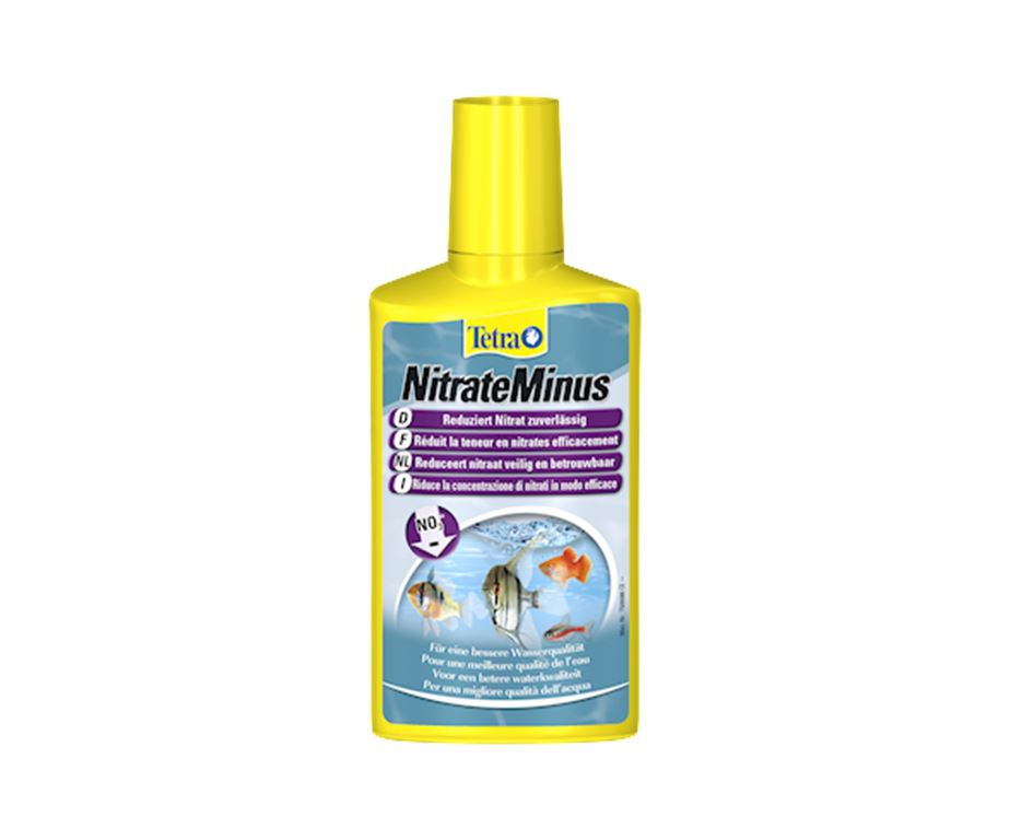 Tetra NitrateMinus riduce in modo affidabile e naturale i nitrati (NO3-) che consentono alle alghe di proliferare.