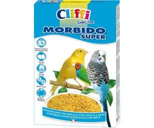 Alimento composto per uccelli granivori ornamentali.