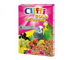 Alimento completo per uccelli pappagallini ornamentali.