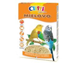 Alimento composto per uccelli granivori da compagnia.