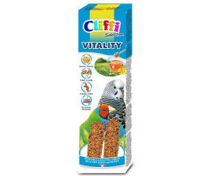 Alimento completo per pappagallini e uccelli esotici da compagnia.