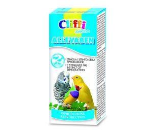 Alimento complementare per uccelli da compagnia.