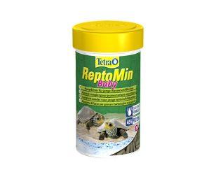 Mangime premium nutritivamente bilanciato per le tartarughe d'acqua più giovani.