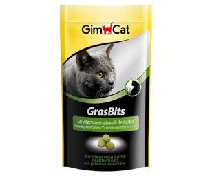 GrasBits è una leccornia particolarmente gradita che contiene un'alta percentuale di erba.