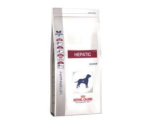Hepatic è un alimento dietetico completo per cani indicato per il supporto della funzione epatica in caso di insufficienza epatica cronica e la riduzione del rame nel fegato.