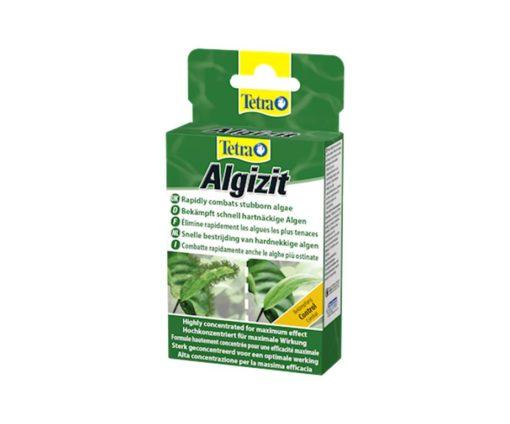 Tetra Algizit combatte efficacemente tutti i tipi di alghe grazie al principio attivo altamente concentrato.