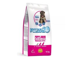 Forza10 puppy junior maintenance al pesce medium/large è uno speciale alimento di mantenimento per cani cuccioli di media/grossa taglia