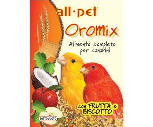 Mangime per animali d'affezione. Alimento completo composto per canarini.