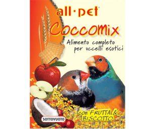 Mangime per animali d'affezione. Alimento completo composto per uccelli esotici.