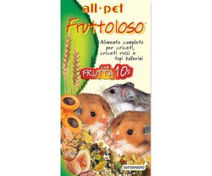 Mangime per animali d'affezione. Alimento completo composto per criceti