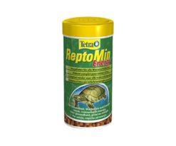 Alimentazione energetica per le tartarughe acquatiche.