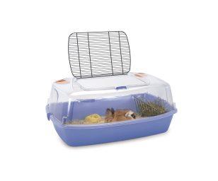 Comoda e funzionale gabbia per conigli e cavie
