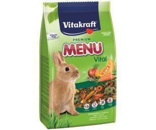 Alimento principale appositamente studiato per le esigenze dei conigli nani.