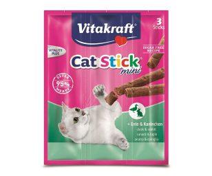 Cat stick sono i gustosi bastoncini con tanta carne che fanno impazzire tutti i gatti.